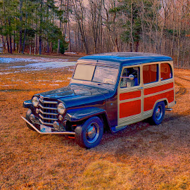 1949 Willys Jeep by Alan Roseman - Transportation Automobiles ( new england, jeep, automobile, outdoors, fall, willys,  )