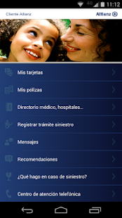 Cliente Allianz - screenshot