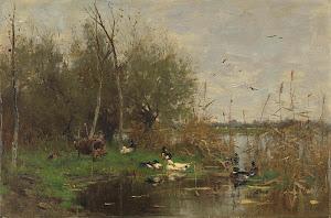 RIJKS: Geo Poggenbeek: painting 1884