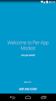 Screenshot of Per-App Modes Lite