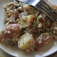 Potato Salad with Bacon, Anchovies and Capers