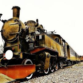 by Ksenija Glavak - Transportation Trains (  )