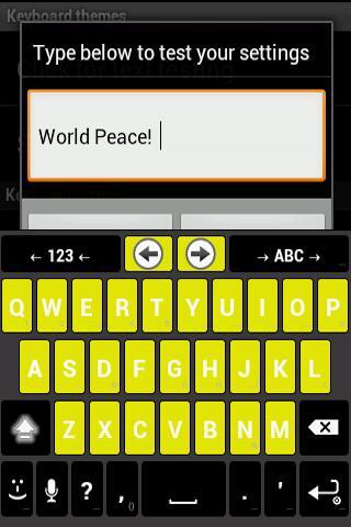 Yellow and Black anysoft theme
