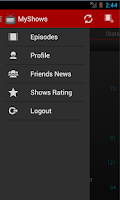 Screenshot of MyShows