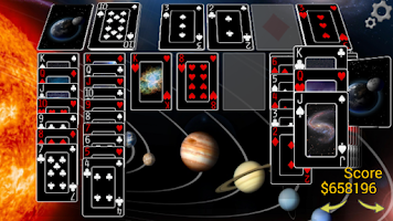 Screenshot of Solitaire 3D Pro -