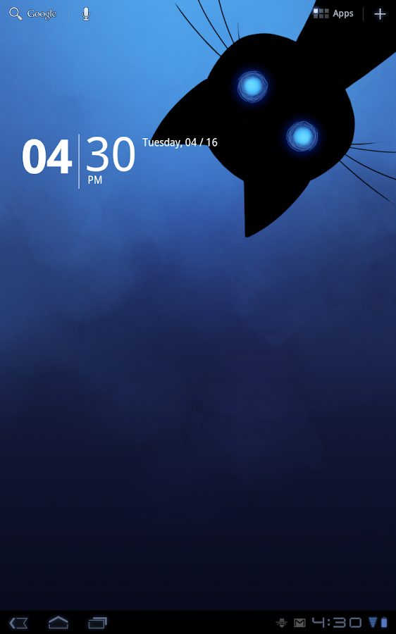 Stalker Cat Live Wallpaper Lt Screenshot 2