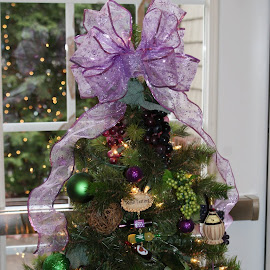 Our 2 Holiday Trees at the hotel by Vickie Harris - Artistic Objects Other Objects