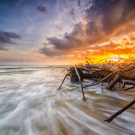 Sunset Time begins by Don Jeek - Landscapes Sunsets & Sunrises (  )