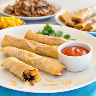 Mexican Spring Rolls (Egg Rolls)