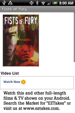 Fists of Fury Movie