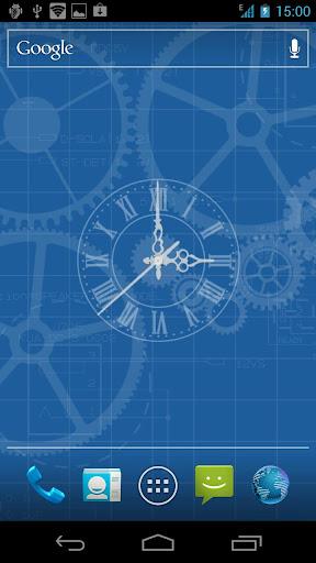 Clockwork Live Wallpaper