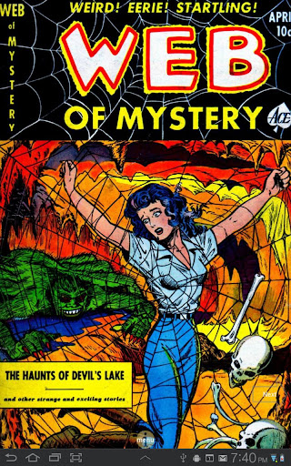 Web of Mystery 8 Comic Book
