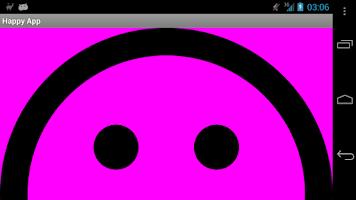Screenshot of Happy App