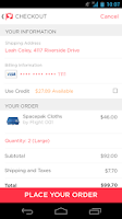 Screenshot of Luvocracy Shopping