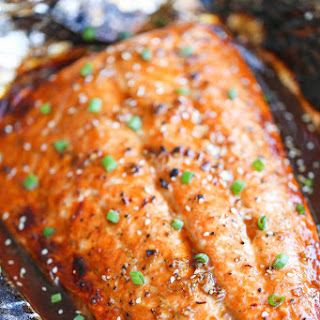 Asian Salmon in Foil