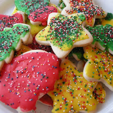 Cut Out Cookies For Santa