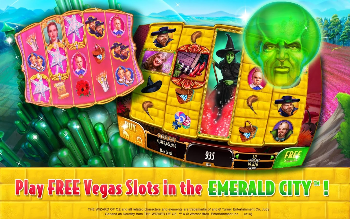 wizard of oz slot machine for pc