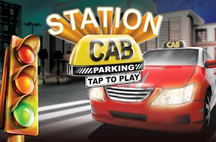 Screenshot of Station Cab City Driving 3D