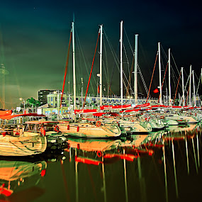MARINA HERZLIYA by Dong Joel - Transportation Boats ( boats, transportation )