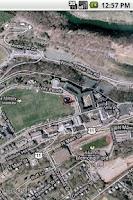 Screenshot of Secu Eye (CQI) with Google Map