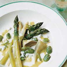Asparagus, Artichoke, and Fava Bean Salad
