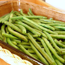 Ww Roasted String / Green Beans