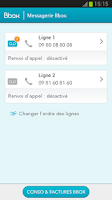 Screenshot of Messagerie Vocale Bbox