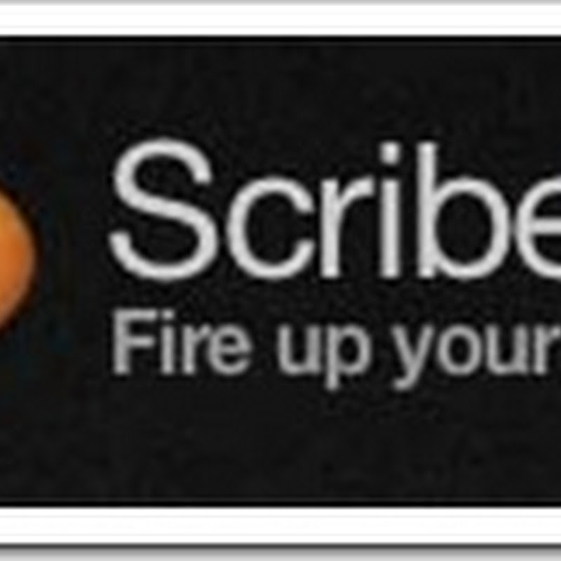 ScribeFire-um editor prático para blogs