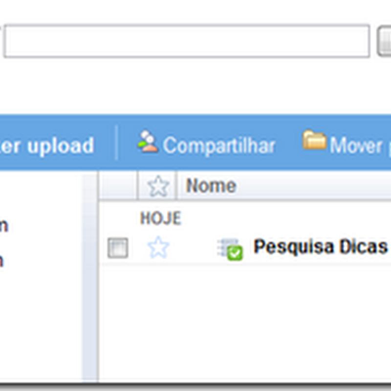 Criando formulário de pesquisa no Google Docs