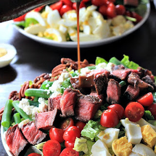 Ribeye Steak Salad with Balsamic Vinaigrette