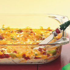 Three Layer Pizza Dip