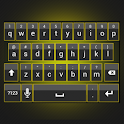 Sleek Yellow Keyboard Skin