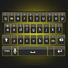 Sleek Yellow Keyboard Skin icon