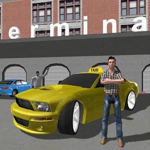 Cover art Taxi Driver Mania 3D racing