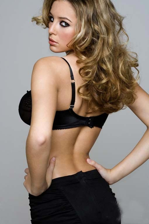 long hair - celebrity  hairstyles - Keeley Hazell 9