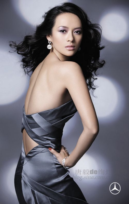 Zhang Ziyi Mercedes-Benz Ads Photoshoot