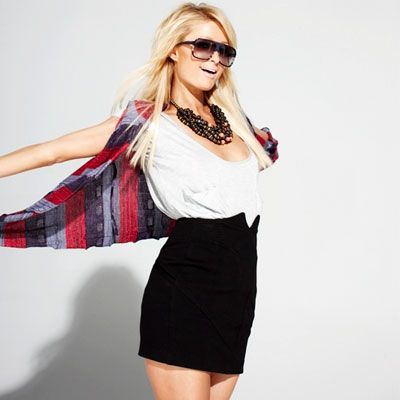 Paris Hilton Nylon Magazine Photos