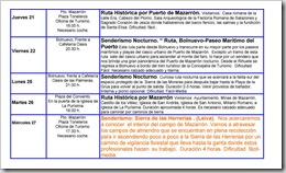 PROGRAMACIÓN SERVICIO DE OCIO 2008-9