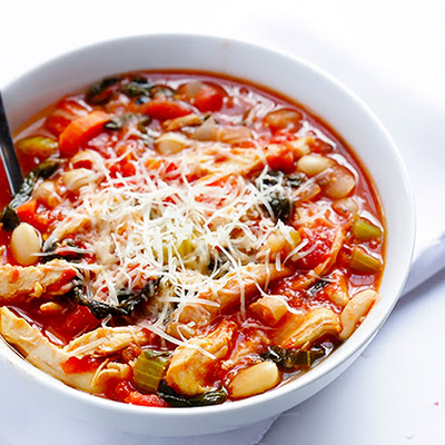 Tomato Basil Chicken Stew