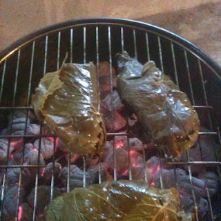 Fish Parcels Wrapped in Grape Leaves