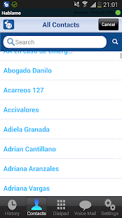 Hablame VoIP - screenshot