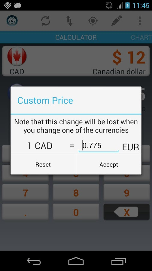 Currency Calculator Pro Screenshot 1