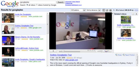 google-video-tv-view
