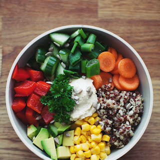 Basic Veggie Bowl