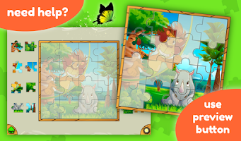 Screenshot of Jigsaw Puzzle Kids