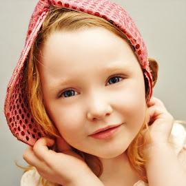Pretend  it's a Hoodie by Cheryl Korotky - Babies & Children Child Portraits