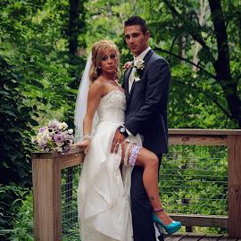 by Nicole Rising - Wedding Bride & Groom