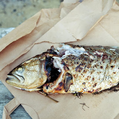 Herb-Stuffed Bluefish