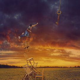 Key of Success II by Erfan Mirabedini - Digital Art Things ( creative, dream, iranian, fine art, erfanmira, mirabedini, manipulation, creative art, erfan, surreal, conceptual, success, fine, bristol, key, photoshop )