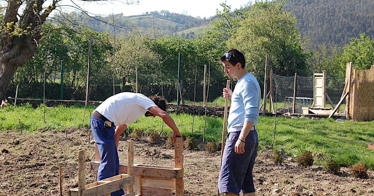En pie de tierra semillero invernadero - Tierra para semilleros ...